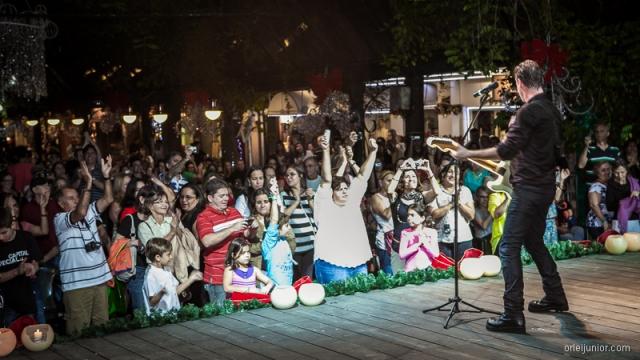 Final do show do Christmas Rock sempre acaba com o público se levantando das cadeiras e indo para frente do palco! AMO!!!